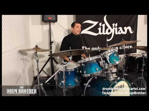 Tony Arco - 'How to Play Broken Jazz Time pt.1' drum tips