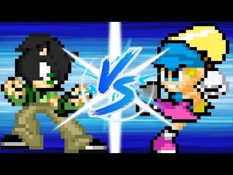 Jack vs Dede 20 sec Fight (Pivot Animator Test)