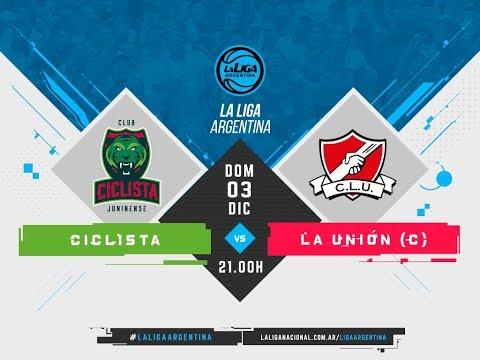 #LaLigaArgentina | 03.12 Ciclista Juninense vs. La Unión de Colón