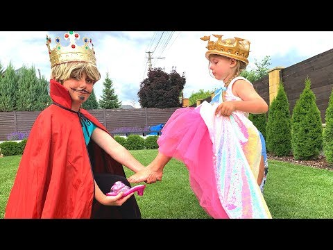 Dana become a princess and Fancy dress from Prince