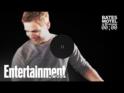 Max Thieriot Recaps All Of 'Bates Motel' In 30 Seconds | Entertainment Weekly