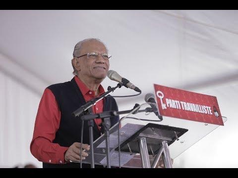 Meeting PTr: Dr. Navin Ramgoolam à Triolet - 19/08/18