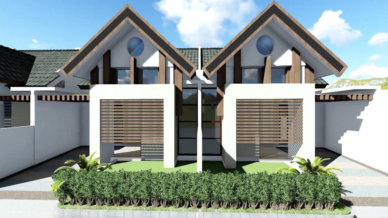 Desain Rumah Minimalis Modern Type 40 50 70 Youtube