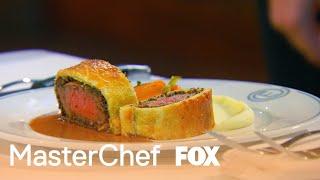 Contestants Try Gordon's Beef Wellington | Season 6 Ep. 9 | MASTERCHEF