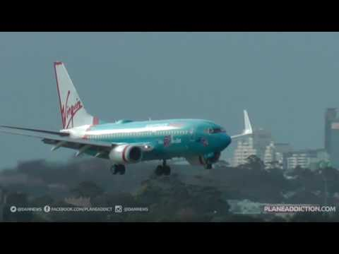 Kingsford Smith Sydney Airport (HD) With Live Air Traffic Control