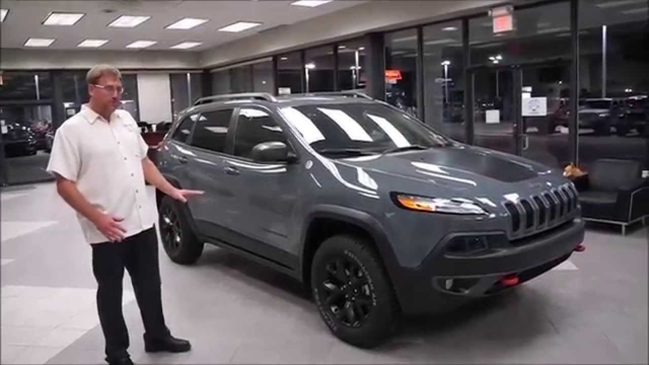 2015 jeep cherokee trailhawk walk around | review in oklahoma city