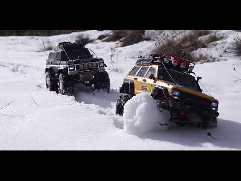 Rock Crawling Expedition , Traxxas Trx- Ford Bronco, Axial Scx Jeep Grand Cherokee XJ.