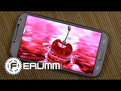 Samsung Galaxy S4 I9500 (i9505) Обзор. Подробный Видеообзор Корейского Флагмана FERUMM.COM