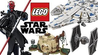 LEGO STAR WARS 2018 SPRING SETS