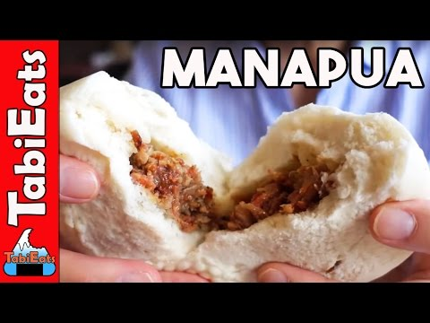 BEST MANAPUA in HAWAII (Chinese Pork Bun)