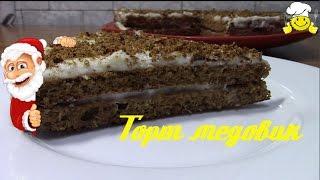 Как сделать Новогодний торт медовик диетический рецепт по Дюкану diet recipes protein