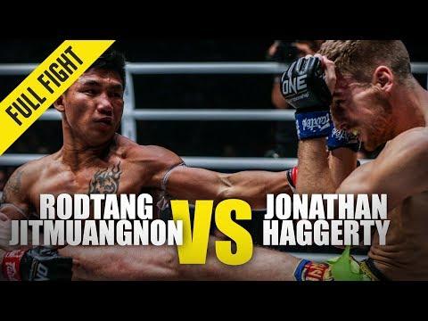 Rodtang Jitmuangnon Vs. Jonathan Haggerty 2 | ONE Full Fight | January 2020