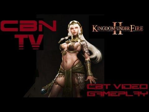 Kingdom Under Fire II (1 серия) создание персонажа и немного боевки.