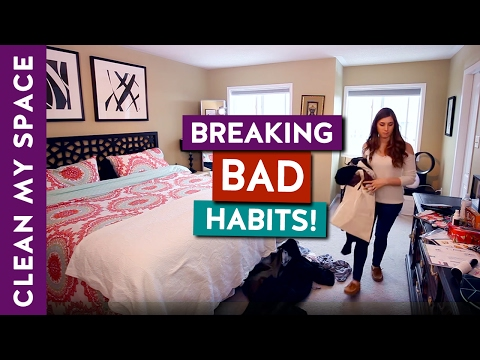 5 Bad Habits You Need to Break! (Cleaning Motivation)