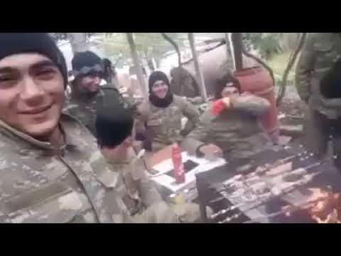 Talış köyünde Azerbaycan askeri zafer kutlaması