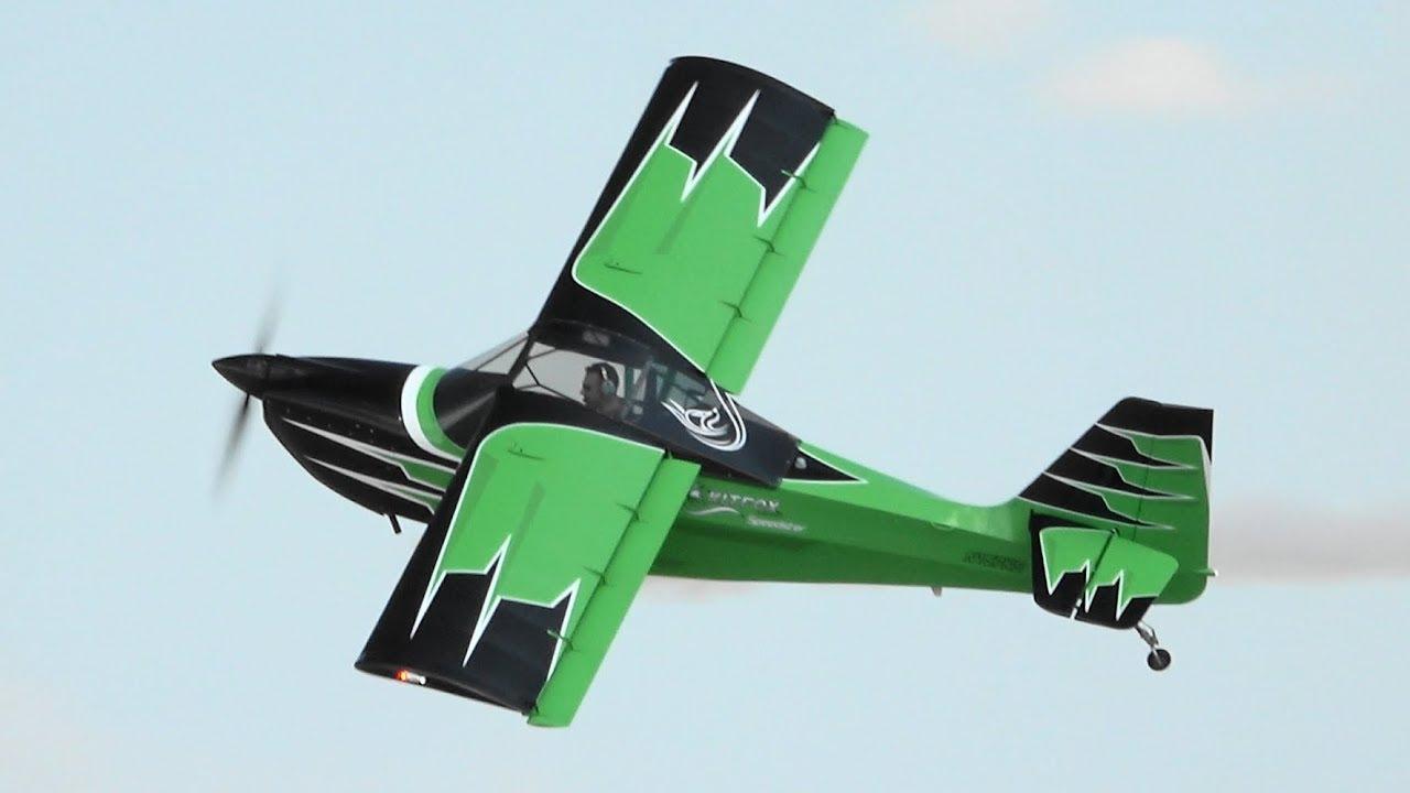 Kyle Franklin - Kitfox S7 Speedster aerobatics - Oshkosh 2018 - Sunday
