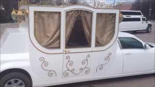 карета лимузин. ТУЛЬСКИЕ ЛИМУЗИНЫ       8-919-070-88-80(Карета лимузин 2013 года постройки, VIP автомобиль, отдельный трон для жениха и невесты, вместимость 7 человек,..., 2013-04-29T14:36:49.000Z)