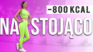🔥STANDING TABATA 🔥NO EQUIPMENT / INTERVAL WORKOUT 45 MIN / BURN 800 KCAL
