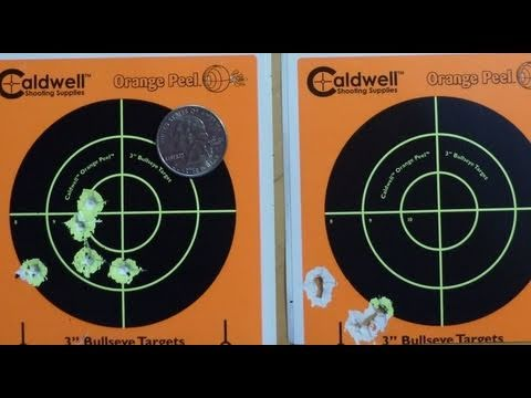 Air Rifle Accuracy - Clean vs. Dirty Barrel - Slow Motion Video