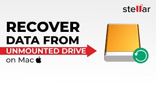Recover macOS High Sierra unmounted external hard drive data
