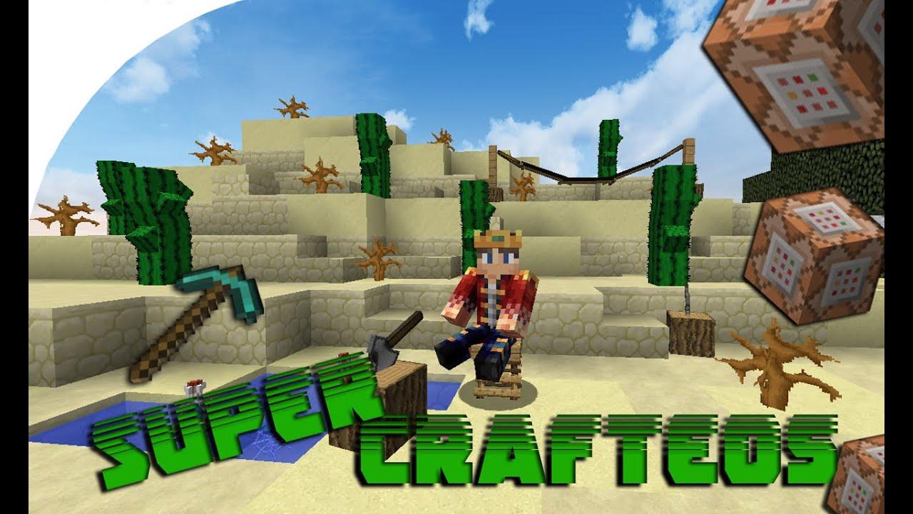 Comandos minecraft 1 8 super crafteos sin mods youtube - Decoraciones para minecraft sin mods ...