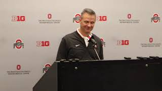 Urban Meyer talks about Maryland ahead of Saturday's game