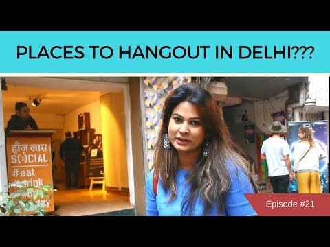 Hauz Khas Village | My Favourite Hangout Places in Delhi | DesiGirl Traveller