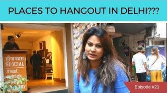Hauz Khas Village | My Favourite Hangout Places in Delhi | DesiGirl Traveller