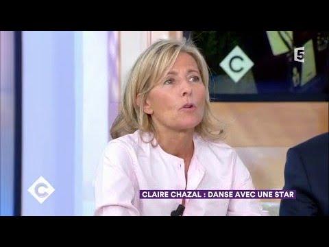 Claire Chazal, danse avec une star - C à Vous - 15/09/2017