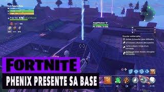 FORTNITE - SAUVER THE WORLD - PHENIX PRESENTE SA BASE!