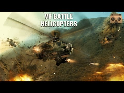 VR Battle Helicopters for Google Cardboard
