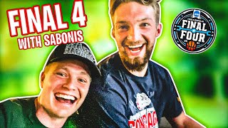 Going to the FINAL FOUR with DOMANTAS SABONIS!! (Behind the Scenes)