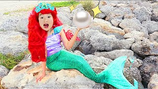 Kostum Gaun Boram Mermaid Underwater Aquarium