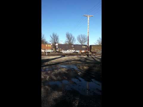 UP train Valley, Ne