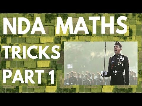 NDA Maths Tricks Part 1 | Straight Lines