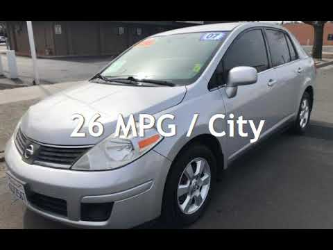 2007 Nissan Versa 1.8 S For Sale In REDDING, CA