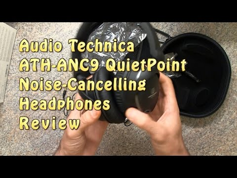Audio-Technica ATH-ANC9 Active Noise-Cancelling Headphones Review