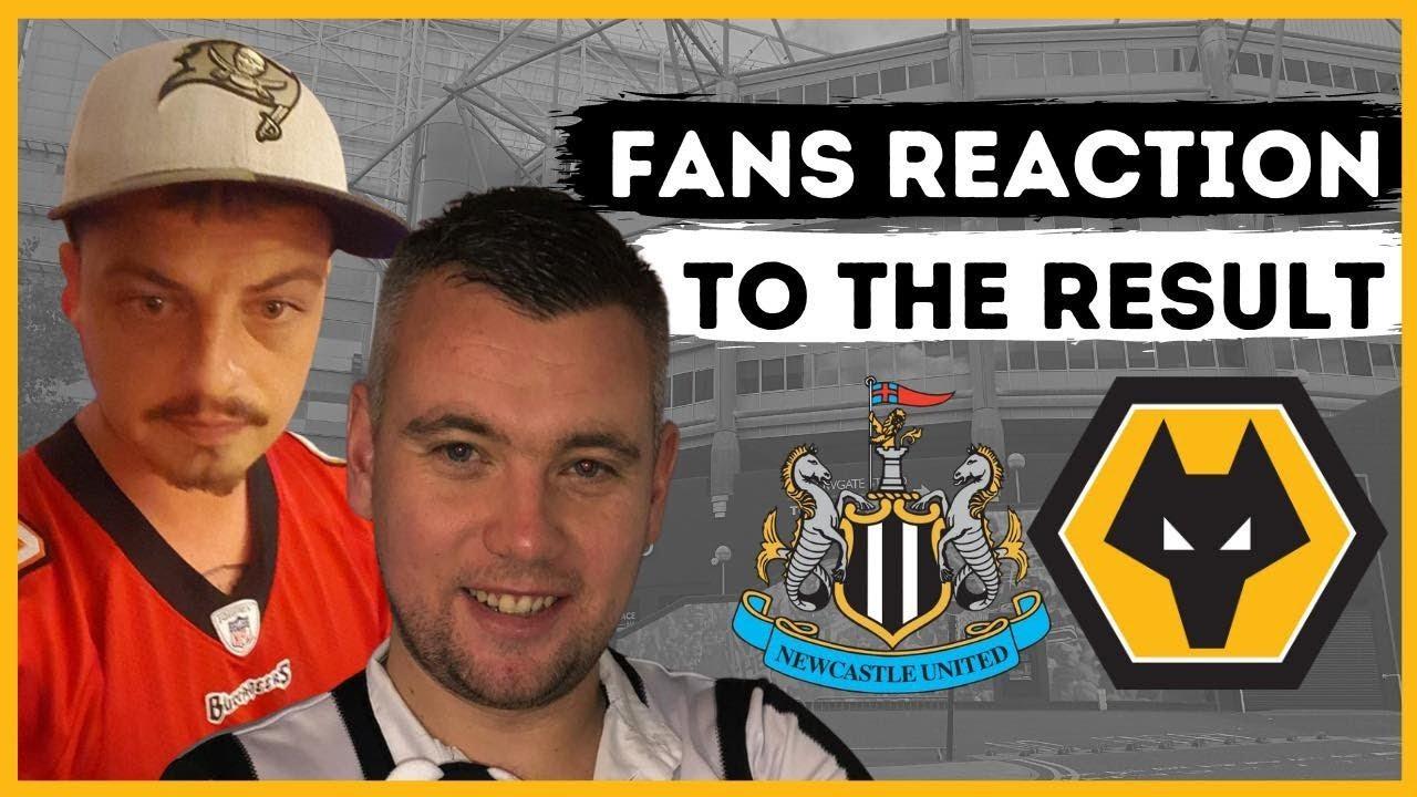 Fan Reaction Show   Newcastle United - Wolves