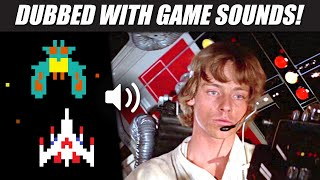 'Star Wars' with GALAGA arcade sounds!