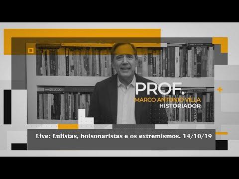 Live: Lulistas, bolsonaristas e os extremismos.14/10/11