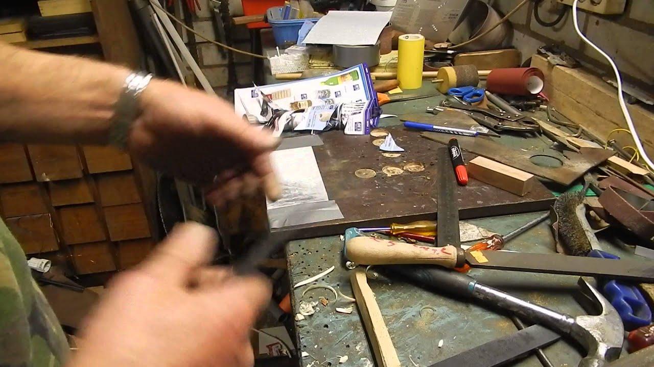 Eerste keer smeden van een mes youtube - Smeden van ijzeren ...