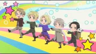 Hetalia  Axis Powers Ending (HD)