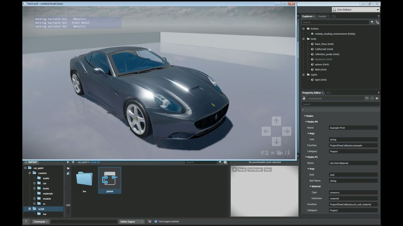 Solved: How to change the material texture at runtime