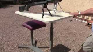 Home Built Shooting Bench