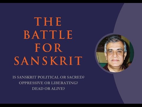 JNU: Rajiv Malhotra's New Book THE BATTLE FOR SANSKRIT_full video