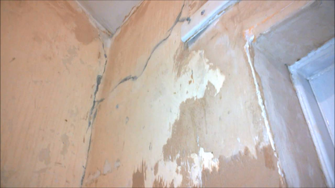 How to plaster uneven walls