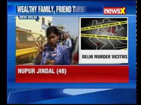 Delhi Horror 4 family members killed, no signs of forced entry inside the house