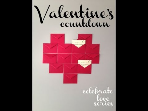DIY Valentine Gift Idea | DIY Valentine Advent Calendar | DIY GIFT FOR HIM