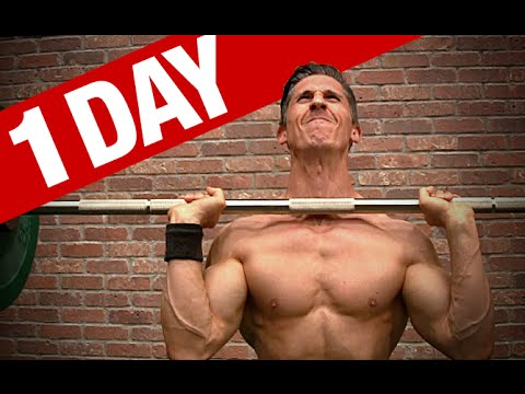 Jeff Cavaliere Meal Plan and Workout (1 FULL DAY!)