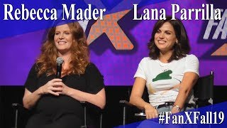 Rebecca Mader & Lana Parrilla - Once Upon A Time Panel/Q&A - FanX 2019
